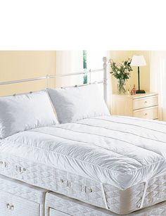 center>Hypoallergenic mattress covers are advised if you need a barrier, which stops allergens such as dustmites, pet dander, and pollen, between you and your mattress. Even the best and most expensive mattress will accumulate allergens and without a cover for your mattress you may well suffer a reaction: it may also be advisable to use some type of mattress topper. This type of mattress cover has very small microscopic pores, less than 4... FULL ARTICLE…
