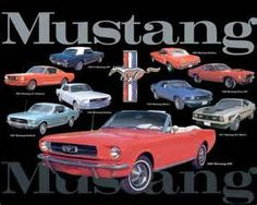 All through history the Ford Mustang has out lived of us all, still in the plastic, ready to hang in a man cave, price 9.99.