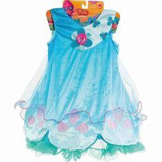 Dreamworks Trolls Poppy Dress - Blue