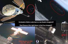 Disso Voce Sabia - Extraterrestres: UFOS - Censura: NASA está se Preparando Para Encerrar suas Transmissões ao Vivo da Estação Espacial ?
