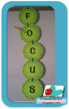 like this idea but would not use it with clips.  I may walk around with a marker and begin writing the letters of the word FOCUS on their desks.  When they have the whole word written, they get rewarded.....