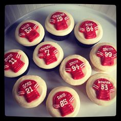 49ers cupcakes Niners Quest for Six Faithful