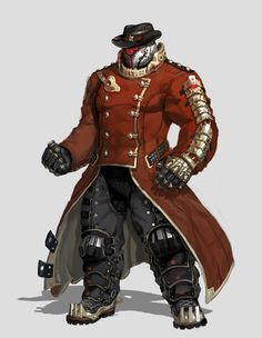 ArtStation - The red heavy sheriff, in shoo