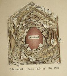 bird house nest book by ms art