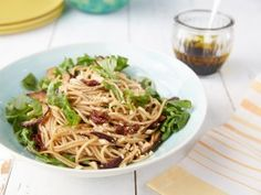 Italian Soba Noodle Salad : Recipes : Cooking Channel