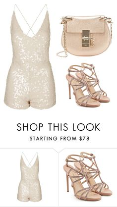 """""""Untitled #84"""" by franxinefiona ❤ liked on Polyvore featuring Motel, Paul Andrew and Chloé"""