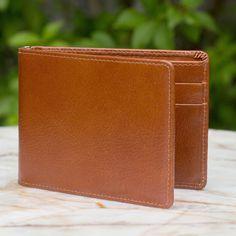 Novica Men's ' Credits' Wallet