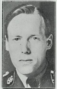 Madsen, T.I.P.O. 1913-1945. Dansk premierløjt. Leder af Schalburgkorpset fra okt. 1944 til 22. jan. 1945, hvor han blev likvideret i Nordre Frihavnsgade i København