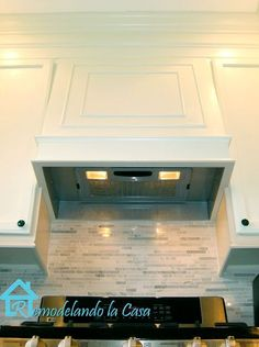 How to build a range hood - kitchen makeover