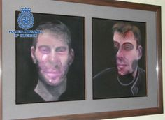 Three people have been arrested in connection with the theft of five Francis Bacon paintings stolen from a private residence in Madrid.