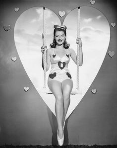 1948 VALENTINE ~ Barbara Bates