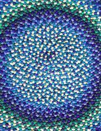 Braided rug/rag rug