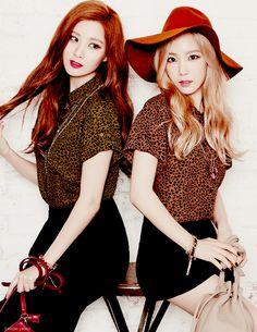Seohyun and Taeyeon