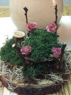 Fairy Bed and Nightstand SetFairy GardenFairyFairy by AdoptAFairy
