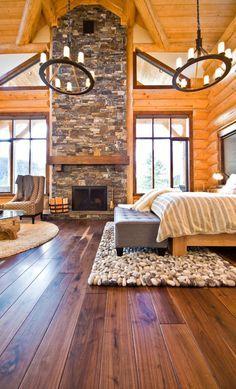 Rustic Bedrooms | Canadian Log Homes