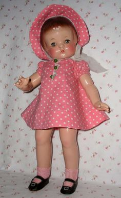 "1930s Effanbee 19"" PATSY ANN Doll -- All Original --"