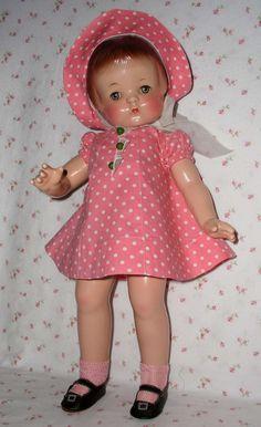 "1930s Effanbee 19"" PATSY ANN Doll -- All Original --"