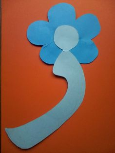 My Blooming Trilliums: Arabic Alphabet Letter Craft (set 2)