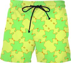 Hipster Color Splashes Smudges Fashion Cotton Polyester Custom-Made Mens Underwear
