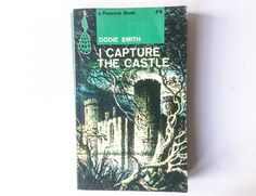 I Capture the Castle Book by Dodie Smith, First Edition Peacock Book, Paperback, Published by Penguin Books, 1963, 01270