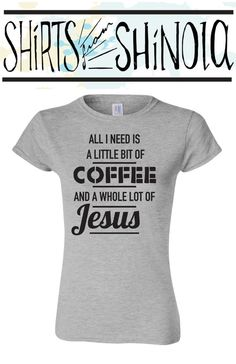 All i need is a little bit of coffee and a by ShirtsFromShinola
