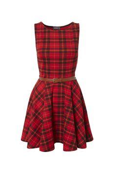 Riri Tartan Dress