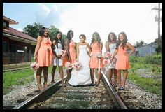 Coral Bridesmaids Dress...  Infinity Convertible by StaysiLee, $90.00