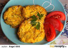 Jáhlovo-zeleninové placičky recept - TopRecepty.cz Guacamole, Cauliflower, Cooking Recipes, Mexican, Vegetables, Ethnic Recipes, Arizona, Salt, Food