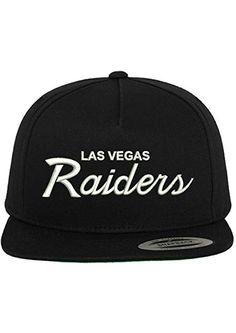 more photos f45ad 7da9f Las Vegas Raiders Embroidered Script Custom Snapback Hat Cap - Black Review  Women s Caps, Caps