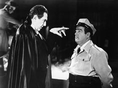 ABBOTT & COSTELLO MEET FRANKENSTEIN (1948) - Bela Lugosi casts a spell on Lou Costello - Directed by Charles Lamont - Universal-International.