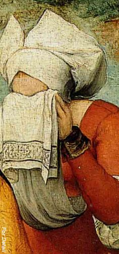 Pieter Bruegel the Elder – The Procession to Calvary - 1564  - Detail women in tears Renaissance Artists, Renaissance Paintings, Italian Renaissance, Jan Van Eyck, Pieter Bruegel The Elder, Smart Art, Caravaggio, Fashion Painting, Beaux Arts