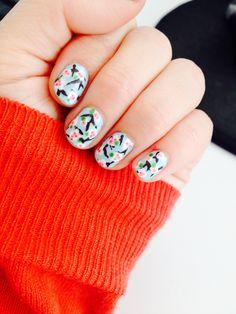 2014 cherry blossom nails