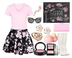 """Cherry blossom"" by sarah-mathews-1 on Polyvore"