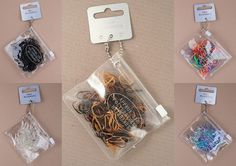 Mini Haargummi Rasta Dread Gummi Band ca.250 St. Haargummi versch. Farben 0,01St