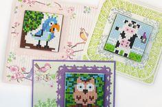 #pixelhobby #kaarten #3D #doehetzelf #creatie #creatief #ideeen #inspiratie