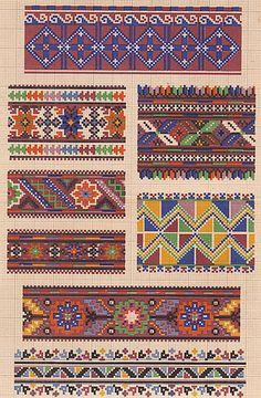 Колекція традиційних українських узорів