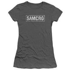 """Checkout our #LicensedGear products FREE SHIPPING + 10% OFF Coupon Code """"Official"""" Sons Of Anarchy / Samcro-short Sleeve Junior Sheer - Sons Of Anarchy / Samcro-short Sleeve Junior Sheer - Price: $34.99. Buy now at https://officiallylicensedgear.com/sons-of-anarchy-samcro-short-sleeve-junior-sheer"""