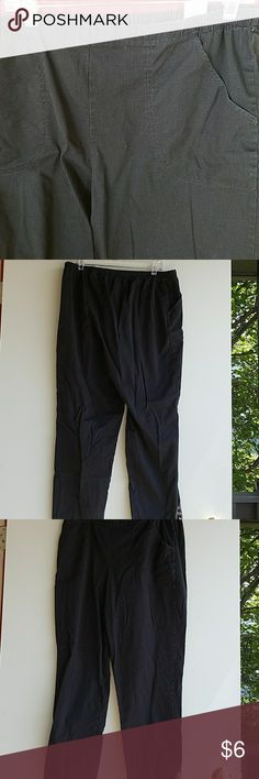 💥💥Black slacks with pockets Jms black slacks with pockets Just My Size Pants