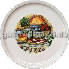 #Pizzateller aus robusten Porzellan.   Abmessungen: Ø 300 mm #Gastronomiebedarf auf www.gastroplus24.de