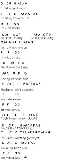 Flute Sheet Music: Search results for Wide awake