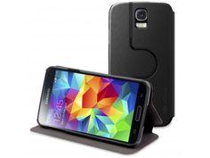 Smart Dash Folio Spin X-Doria® Rotative Noire pour Galaxy S5