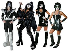 Party your way into rock and roll hall of fame history this Halloween, with any of our exclusive KISS costumes!