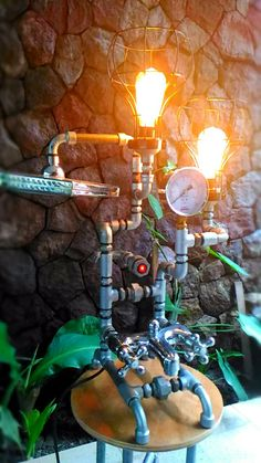 Steampunk lamp...again.....
