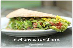 Inspired by McDougall: No-Huevos Rancheros