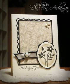 SC422~CC412 Thinking of You by darleenstamps - Cards and Paper Crafts at Splitcoaststampers