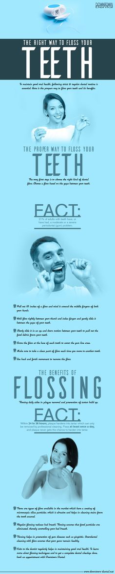 Proper brushing and flossing is necessary to maintain your oral health properly.
