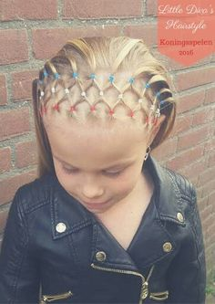 22 Best Rubber Band Hairstyles Images On Pinterest Girl