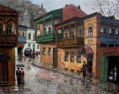 a-painting-of-old-tbilisi-by-giovanni-vepkhvadze_4.jpg (802×633)
