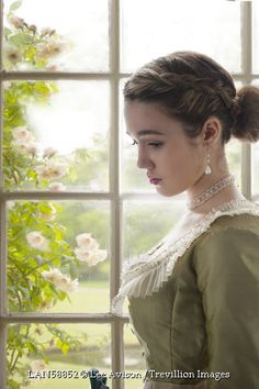 Trevillion Images - young-victorian-woman-by-window