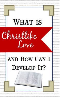 Take time to read this article about Christlike love (charity)!  You will be better for it!